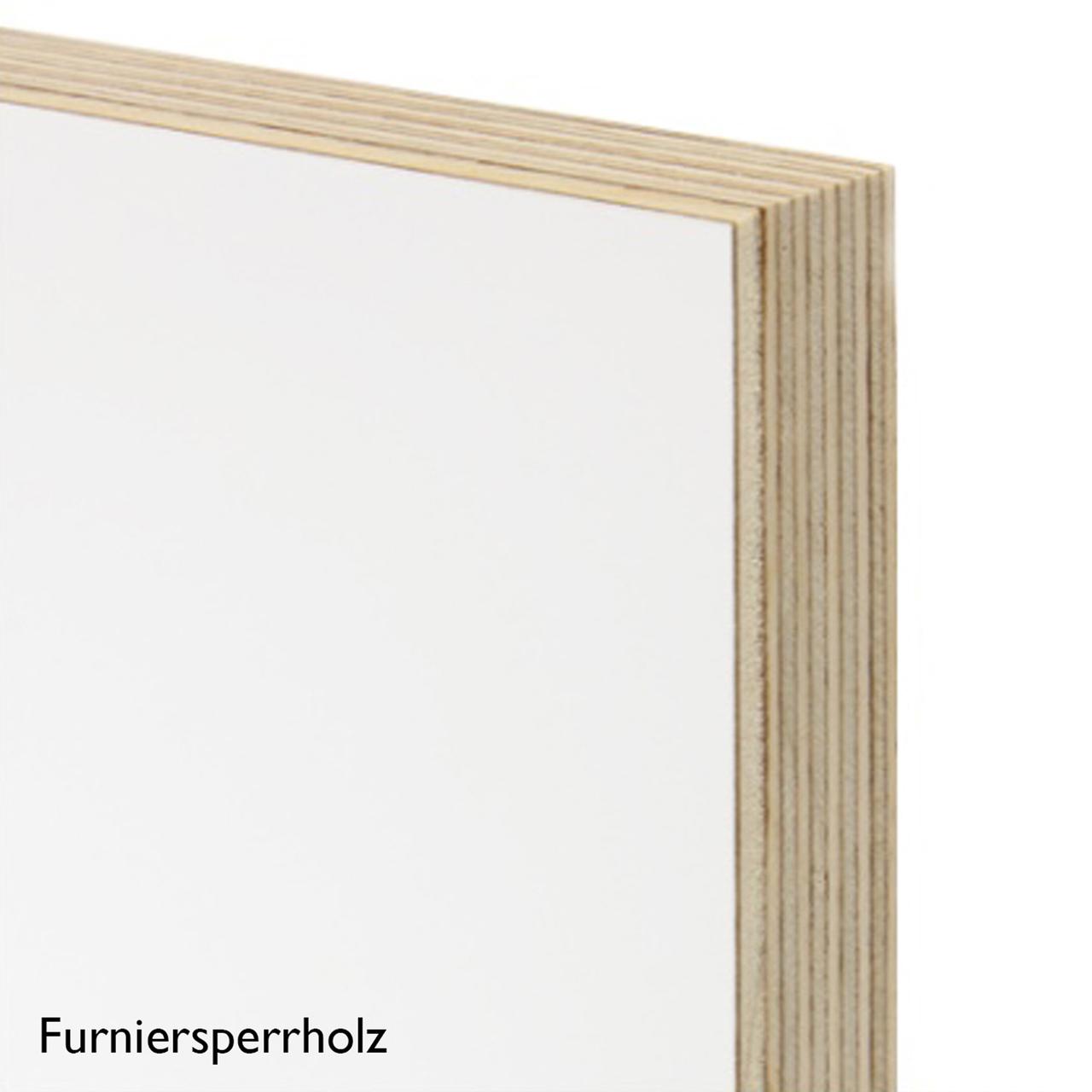 Regal FNP Furniersperrholz weiss