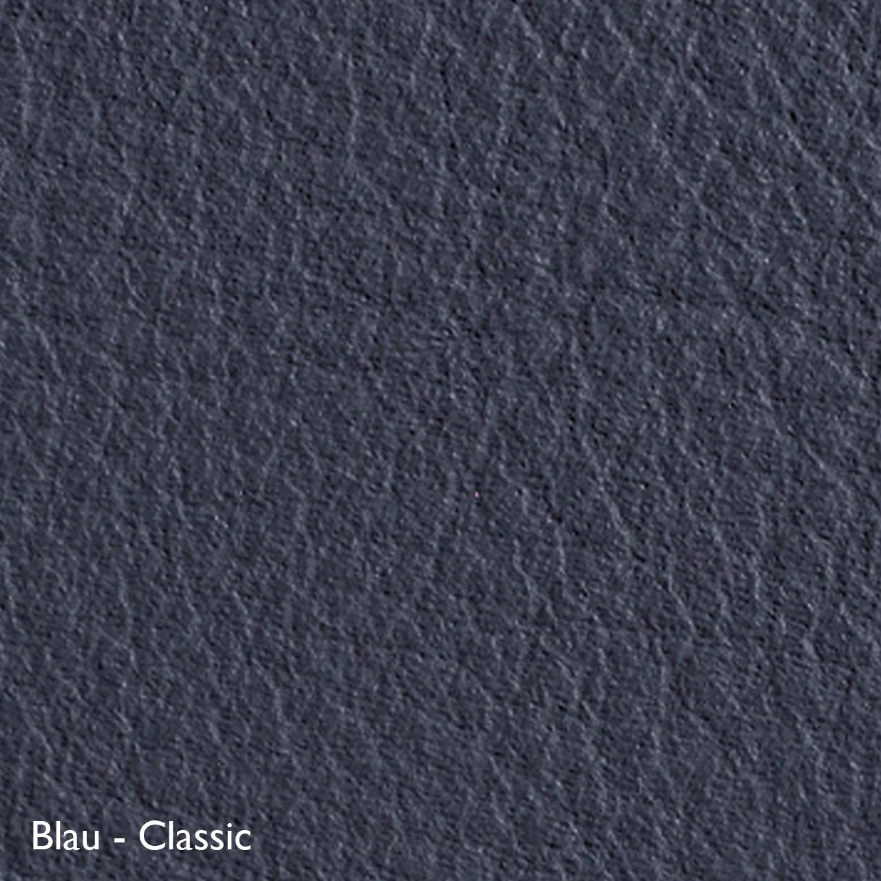 Classicon Sessel 'Euvira' mit Polsterung  Eiche natur,  Filzgleiter,  Blau - Classic