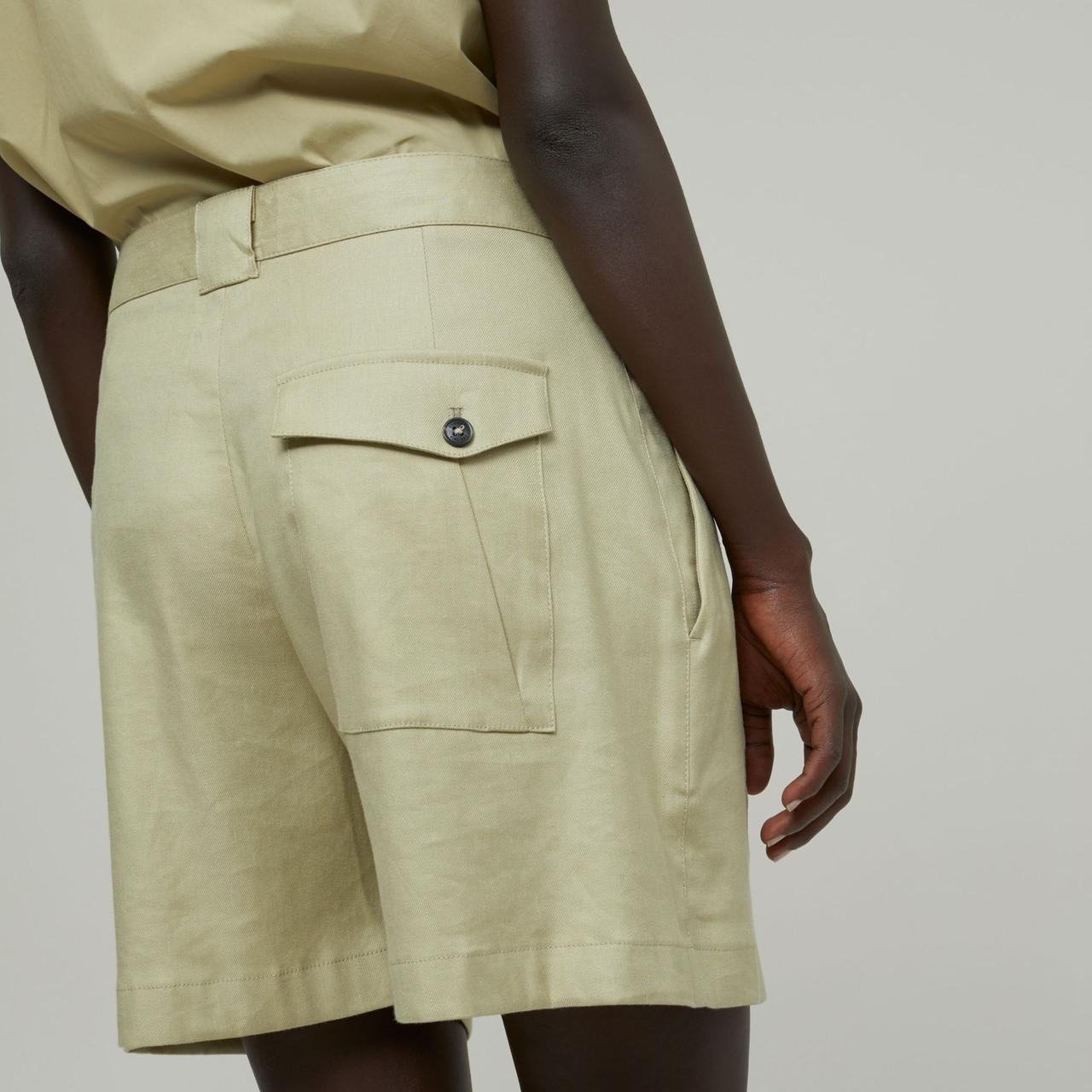Shorts von 'Closed' mit Bundfalten