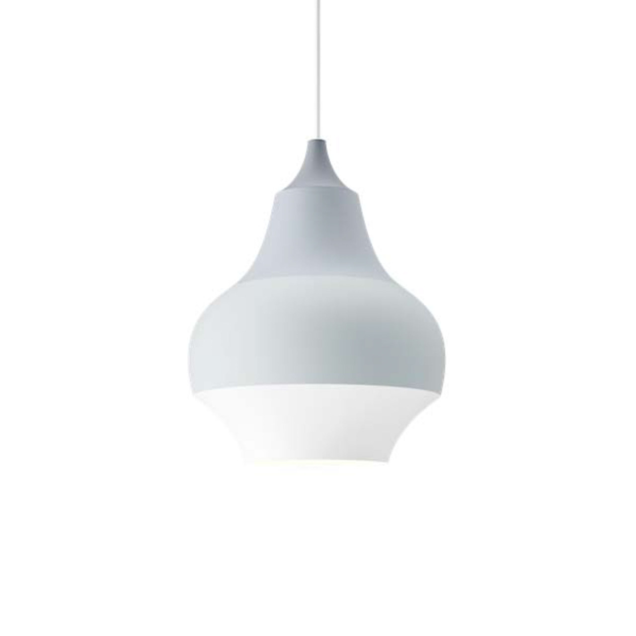 Louis Poulsen Lampe 'Cirque' Ø: 15 cm, Grau