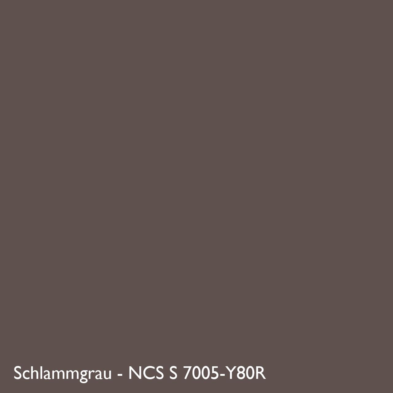 Farbkachel Manufakt Schlammgrau - NCS S 7005-Y80R
