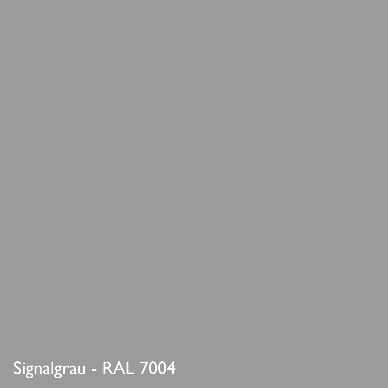 Farbkachel Manufakt Signalgrau - RAL 7004