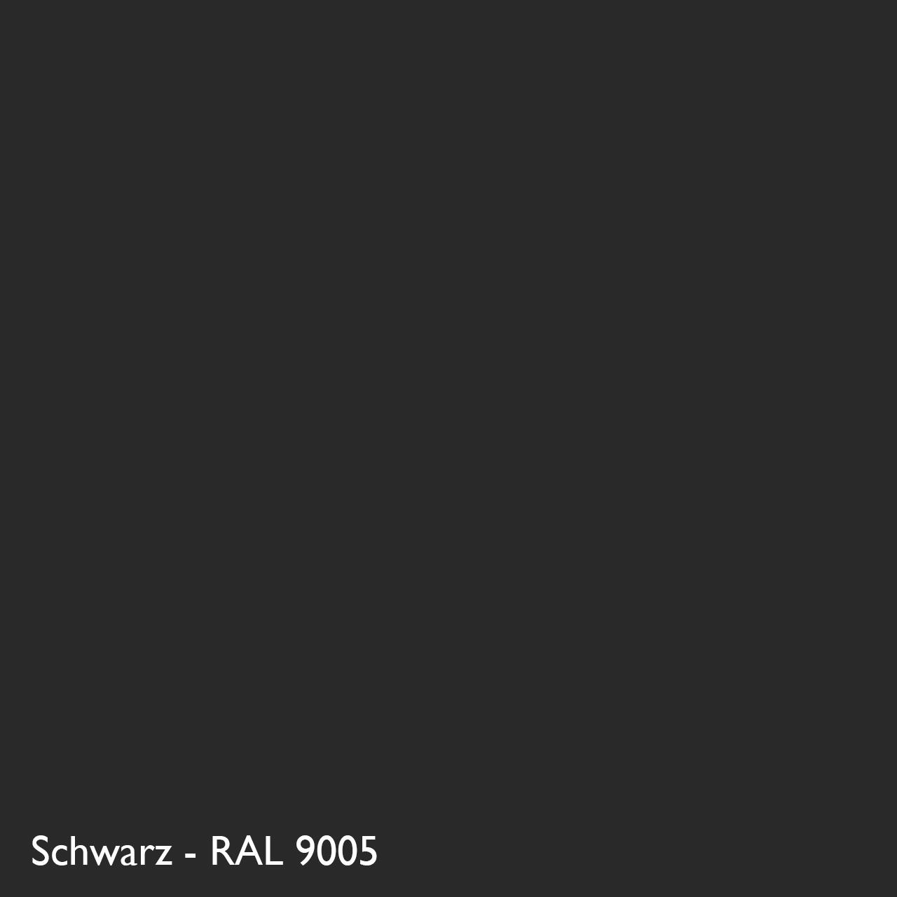 Farbkachel Manufakt Schwarz - RAL 9005