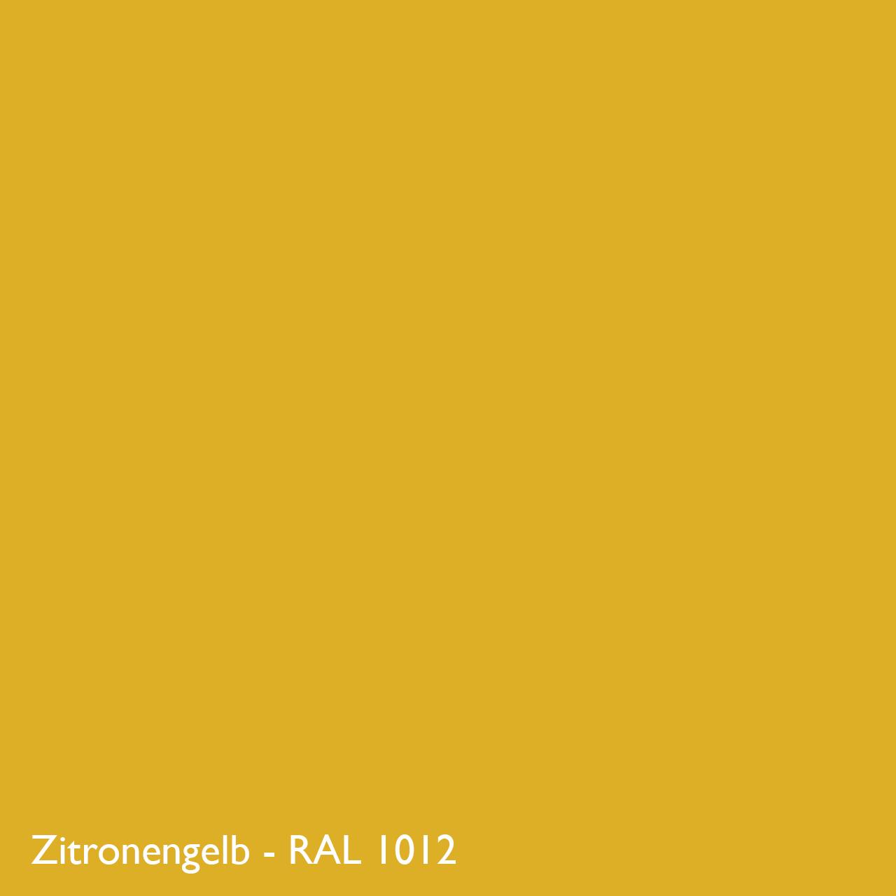 Farbkachel Manufakt Zitronengelb - RAL 1012