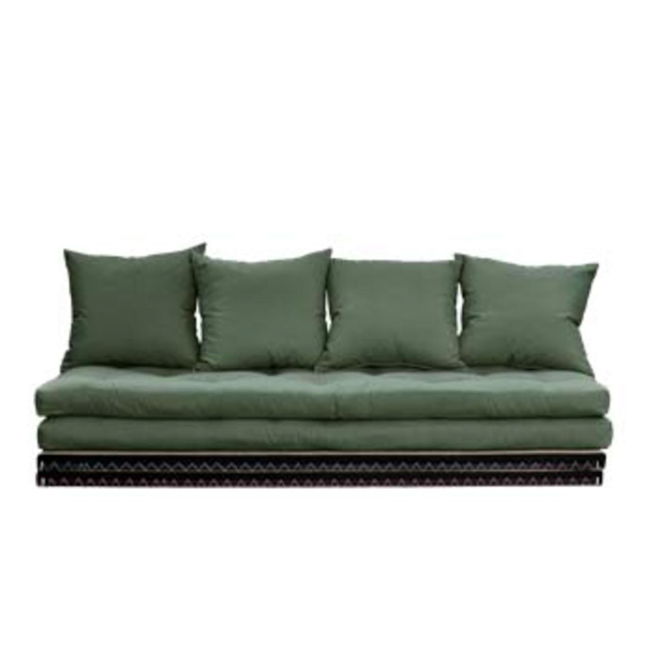 Karup Design Schlafsofa 'Chico' Olivgrün