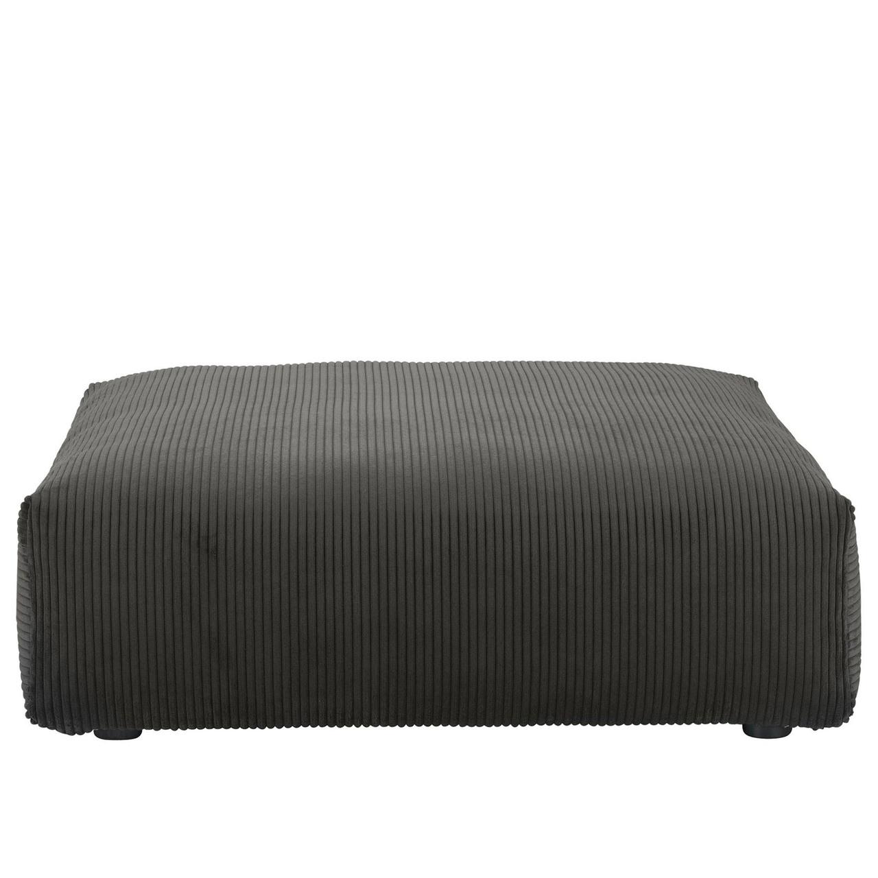 Vetsak Sofa Seat Large Cord Velour - Dunkelgrau
