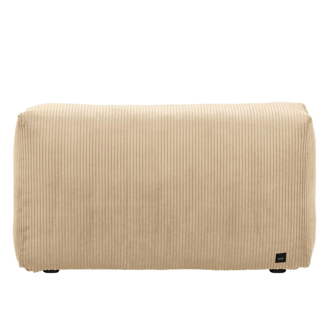Vetsak Sofa Side Cord Velour - Sand
