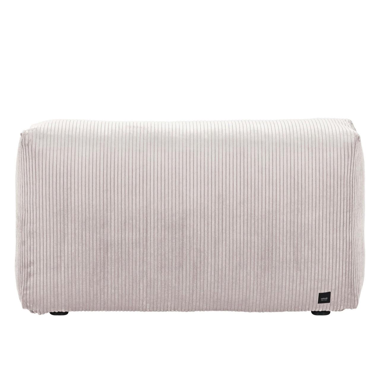 Vetsak Sofa Side Cord Velour - Platin