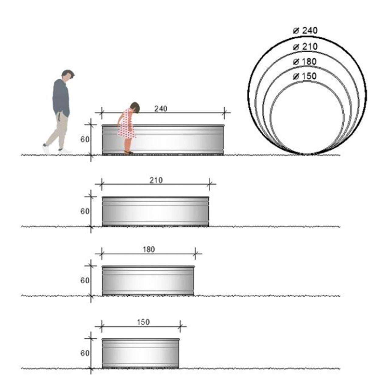 Runder Pool von 'Tankkd' Skizze
