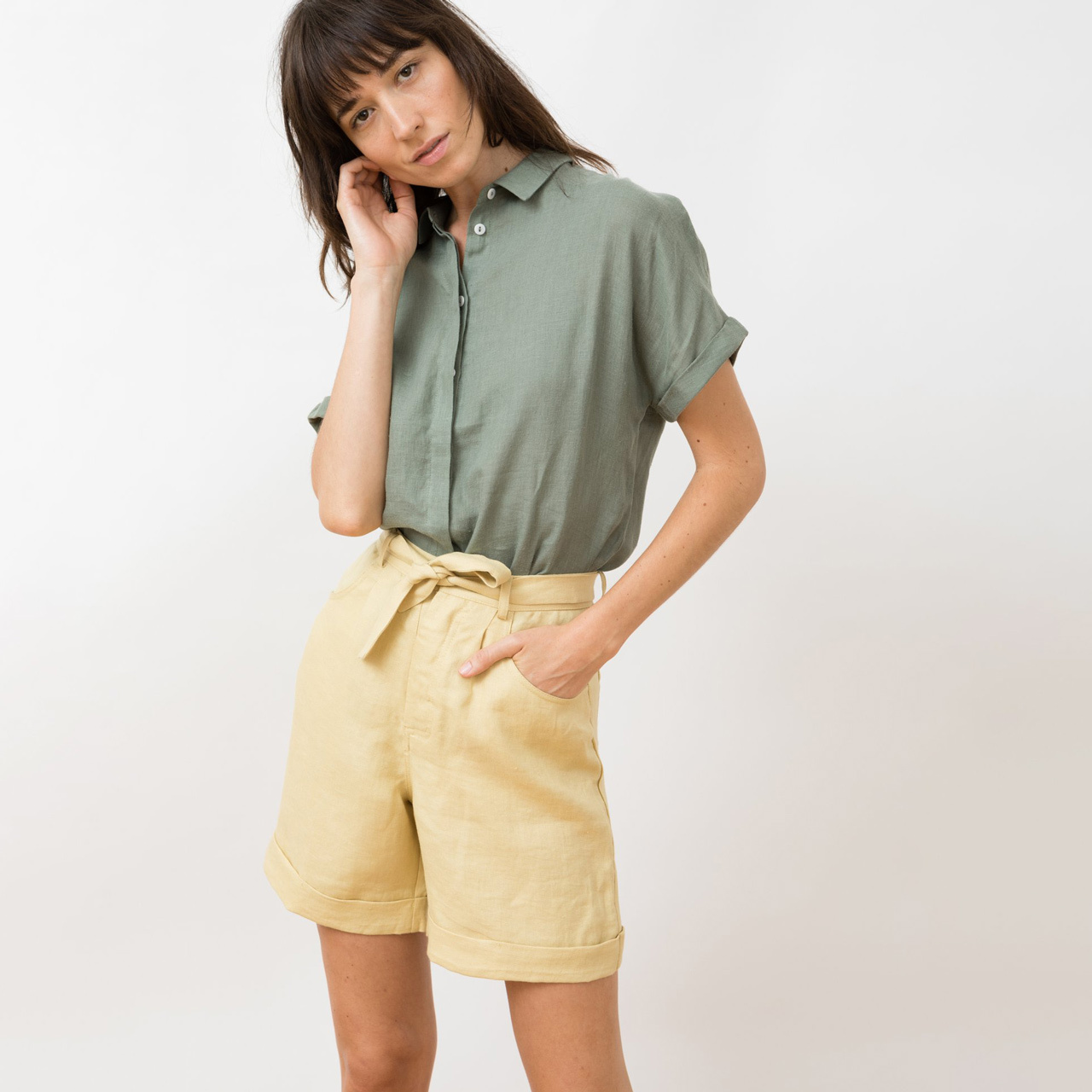 Liebste Leinen-Shorts von 'Jungle Folk'