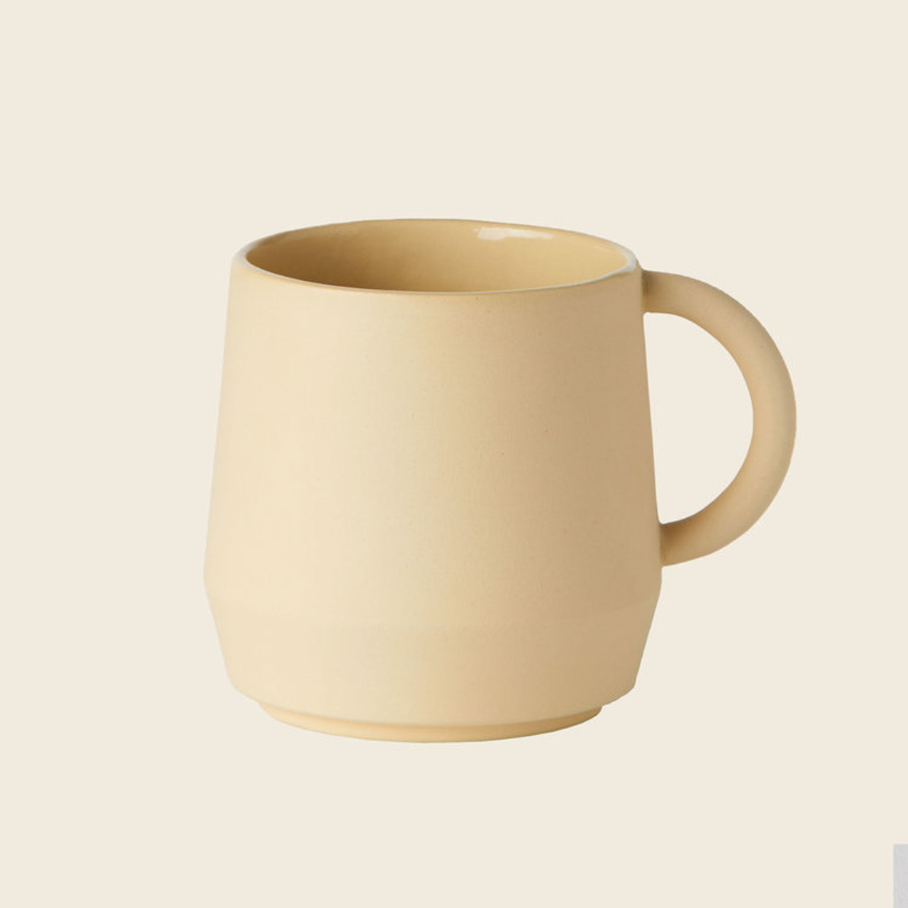 Schneid Cup Keramik, Gelb
