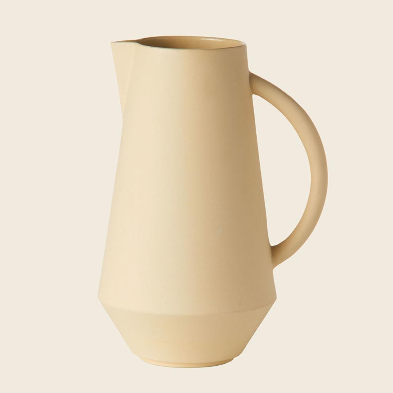 Schneid Karaffe Keramik, Gelb