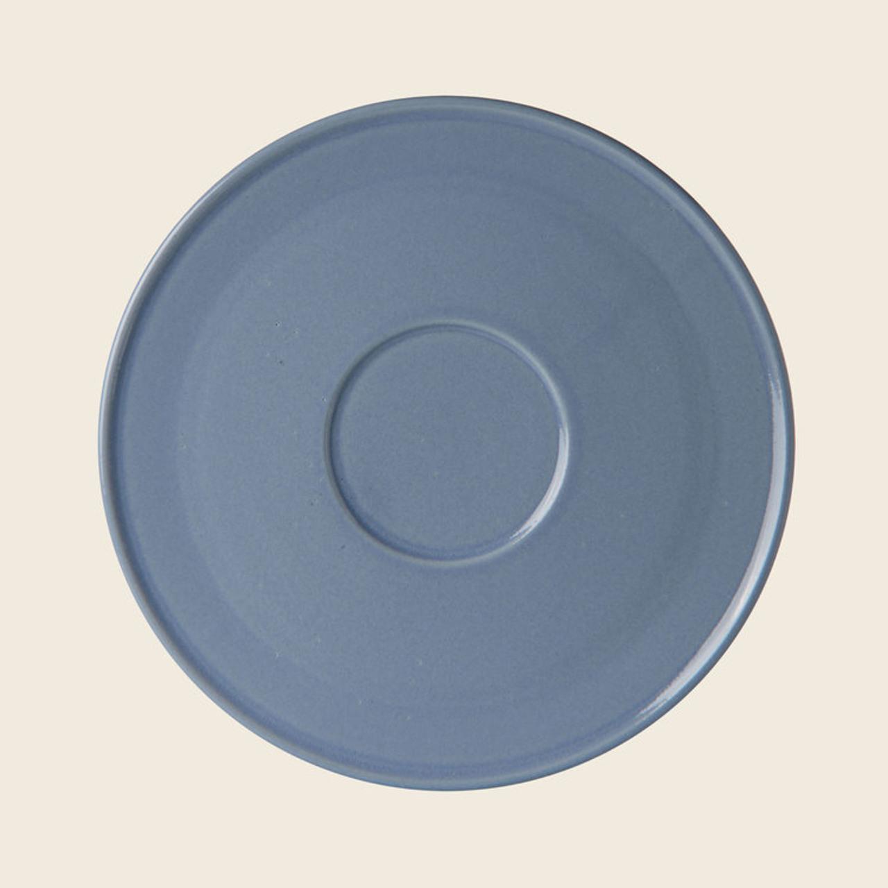 Schneid Plate Keramik, Blaugrau