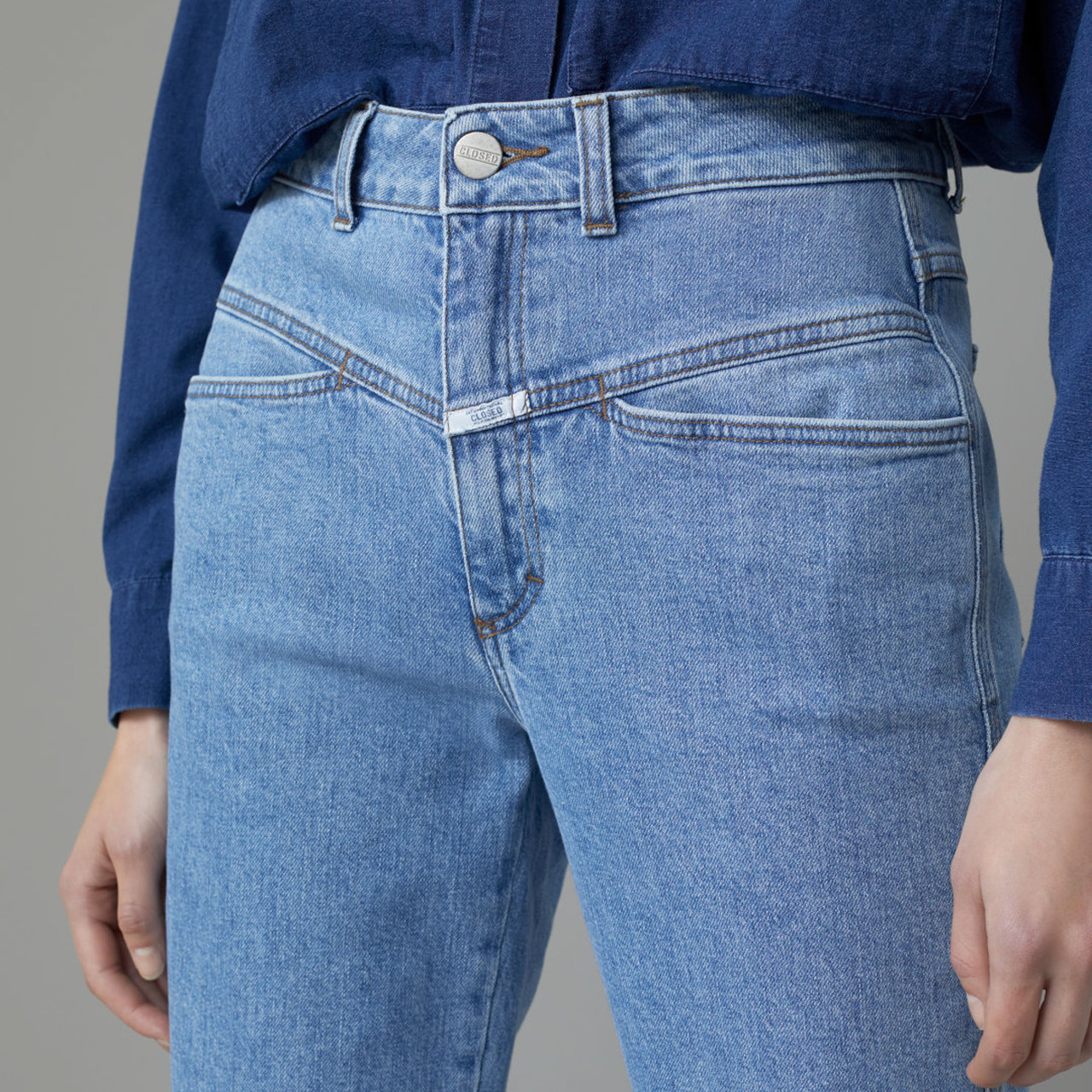 Closed Jeans 'Pedal Pusher' von 'Closed' IT 38