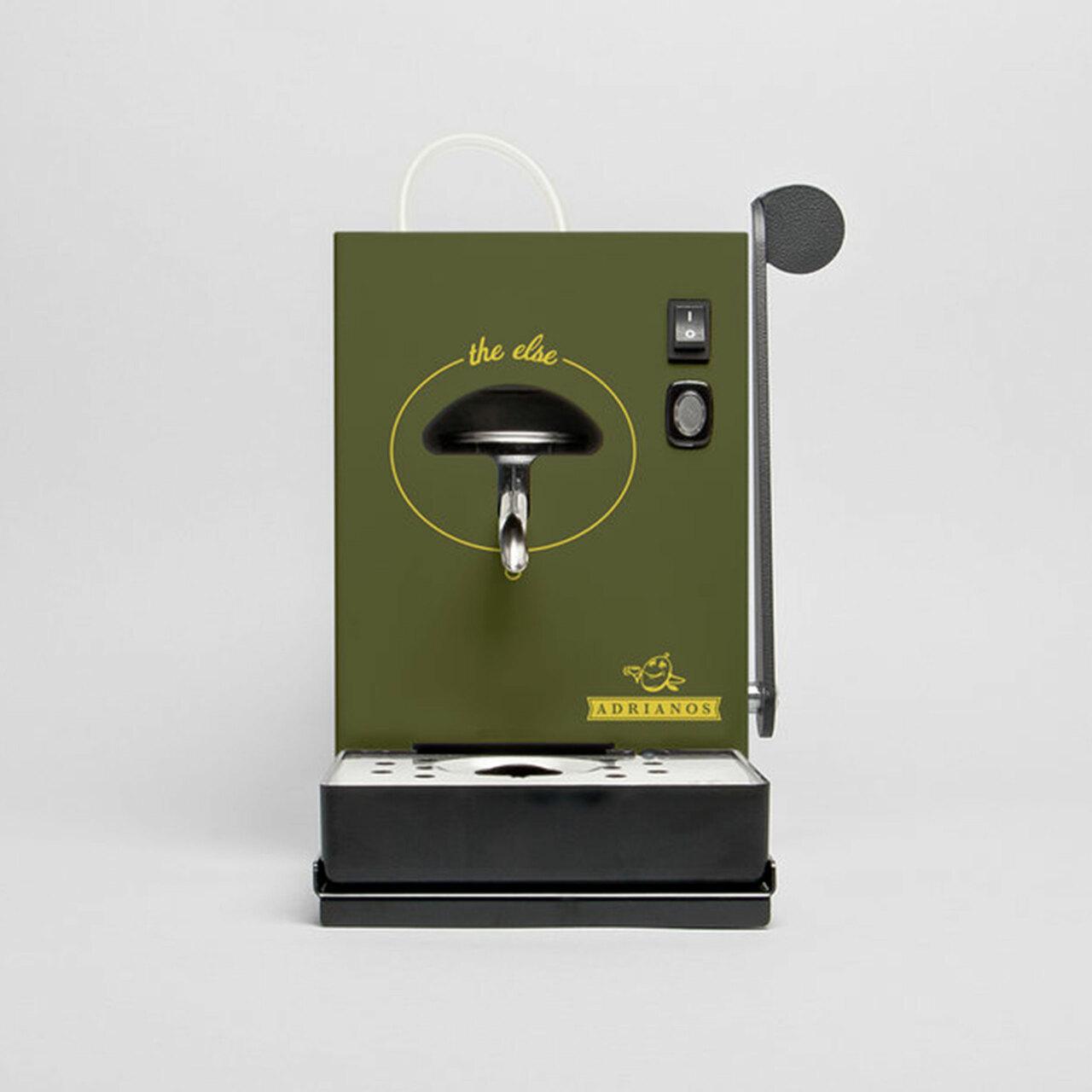 Adrianos Berner Kult-Kaffeemaschine Olive