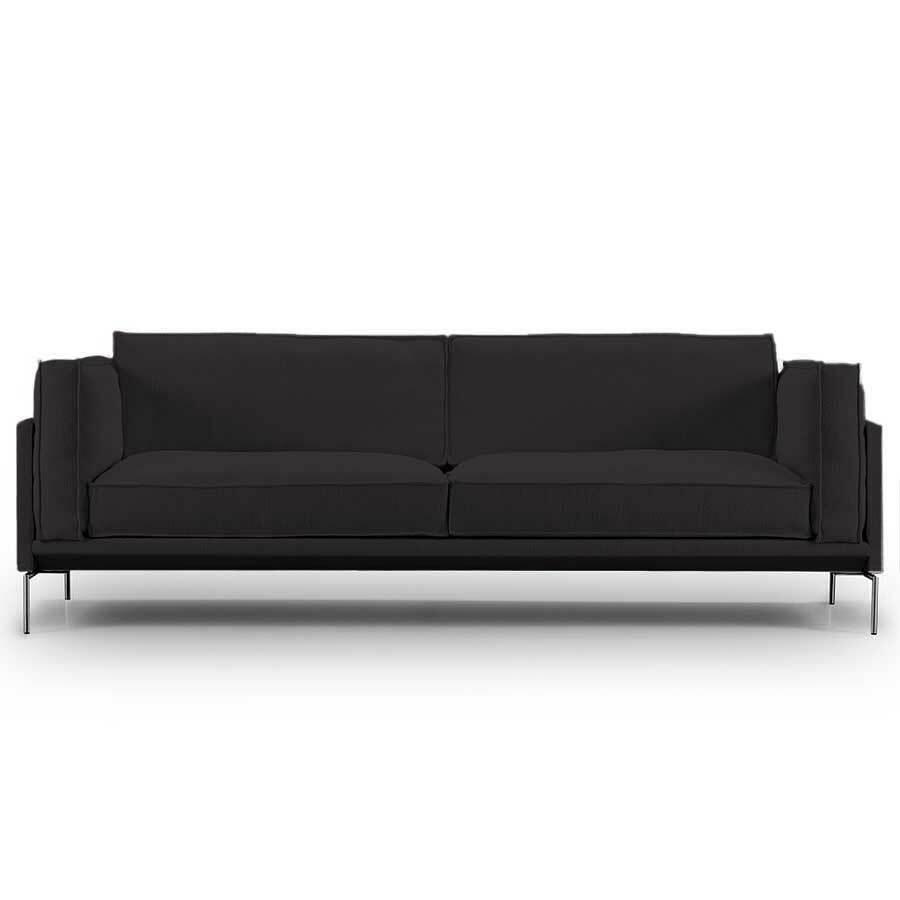 Eilersen Neu: Sofa 'Slimline' Grafit - Gravel 16, L: 180 cm