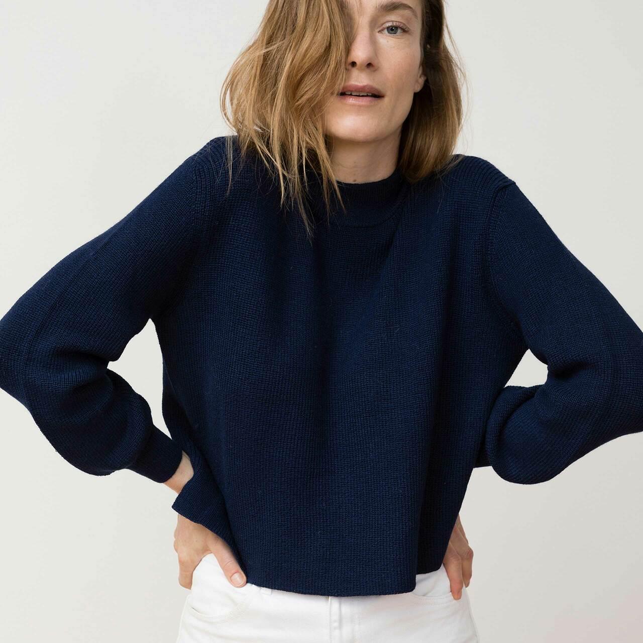 Jungle Folk Helo Sweater von 'Jungle Folk' Navy Blue