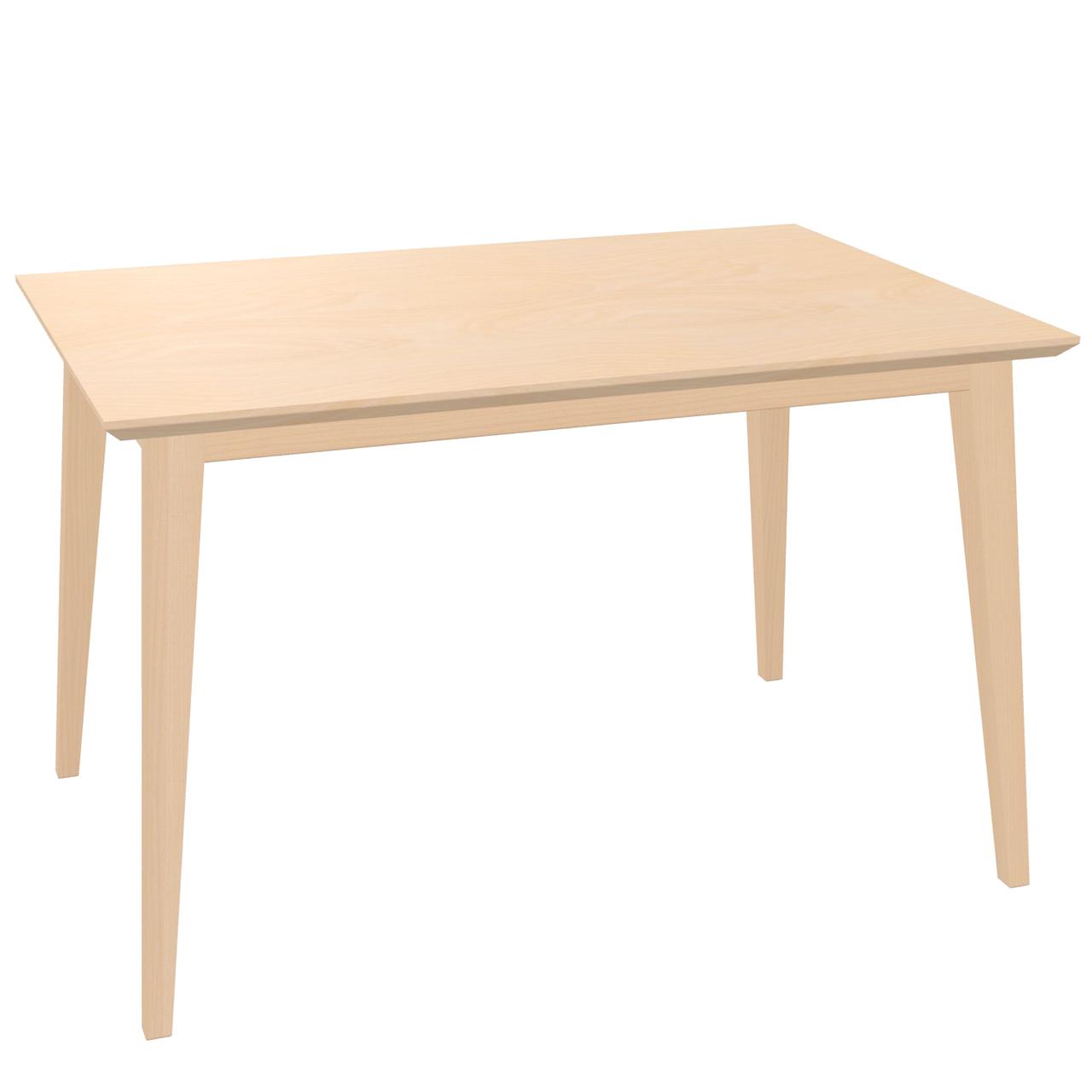 Ton Ausziehbarer Tisch 'Jylland' 90 x 140 - 200 cm, Buche, Natur lackiert