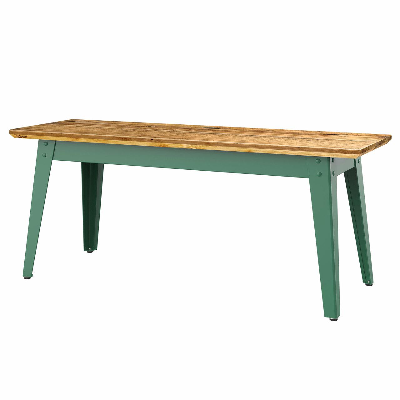 Jan Cray 6Grad Bank Bauholz B: 36 cm / L: 120 cm / H: 40 cm, Spindgrün