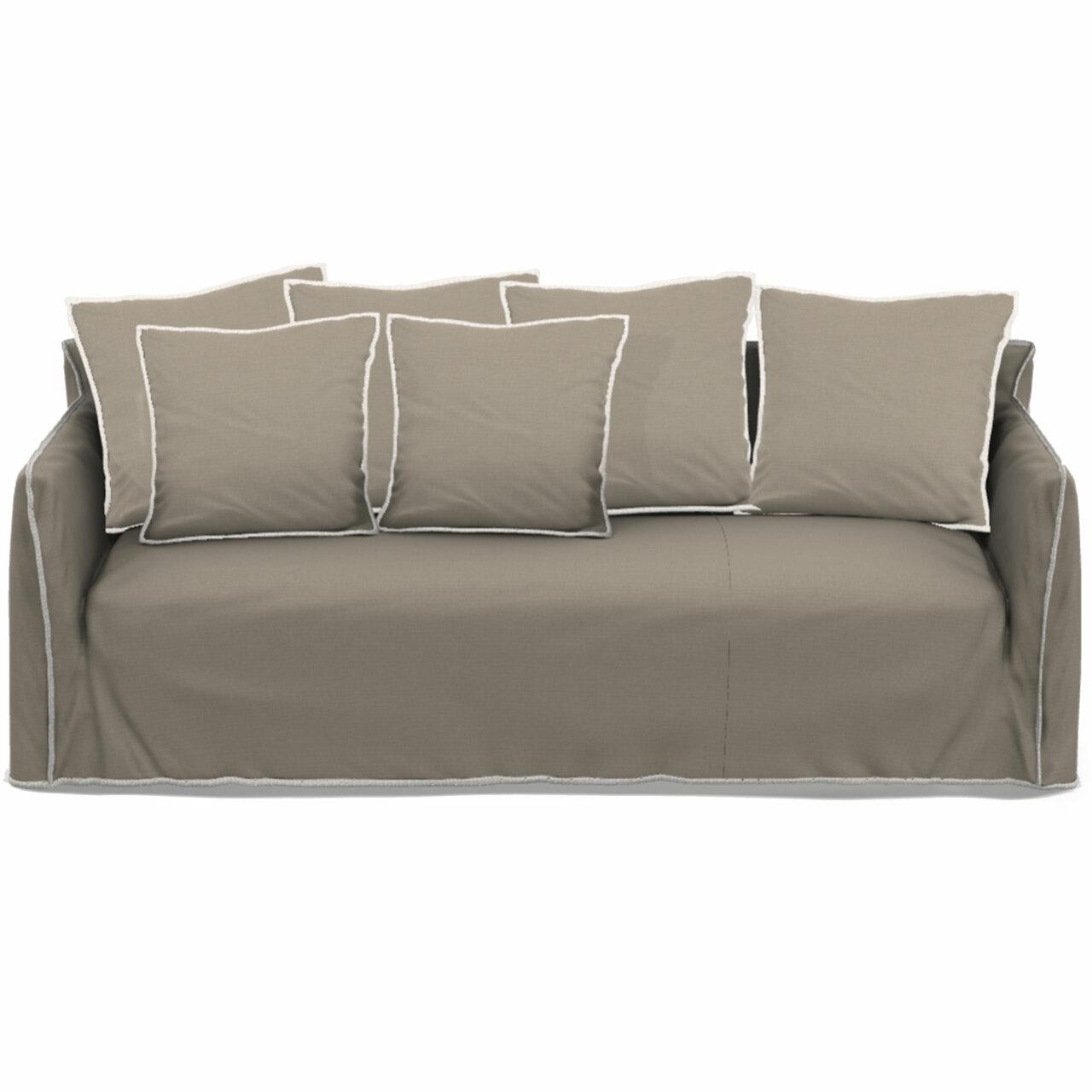 Gervasoni Sofa 'Ghost' B: 260 cm / T: 100 cm , Cenere - Furby