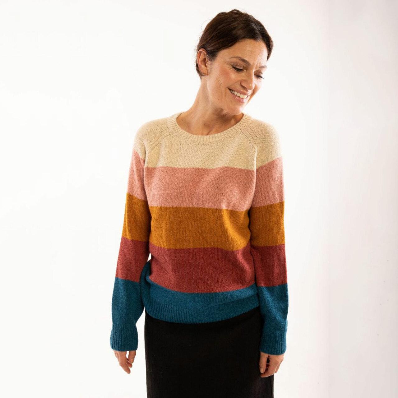 Danefae Pullover 'Lisa' von Danefae Multicolor