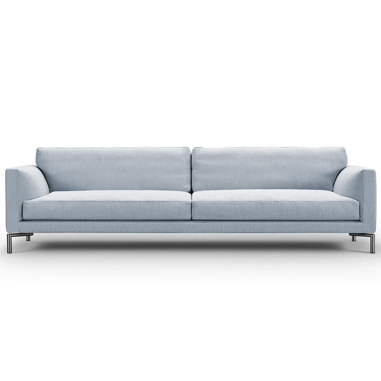 Eilersen Sofa Mission Fenstergrau 26 - Nature, B: 240 cm, festsitzend