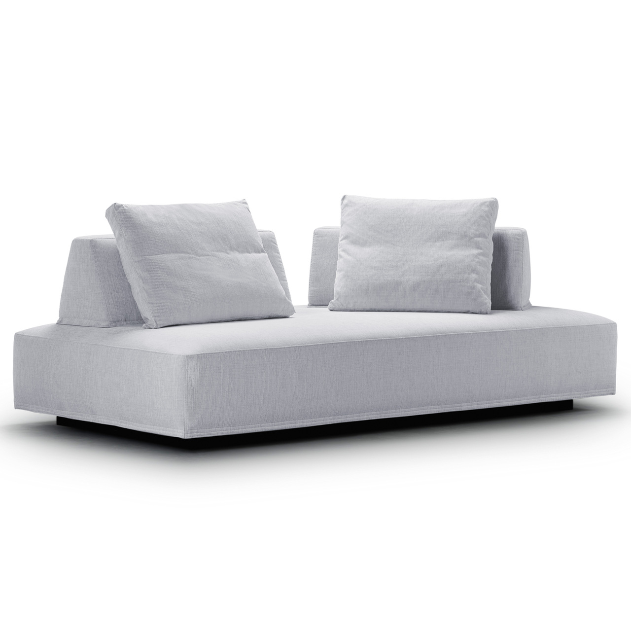Eilersen Sofa 'Playground' Schwarz/Weiss 40 - Tangent, B: 200 cm / T: 130 cm