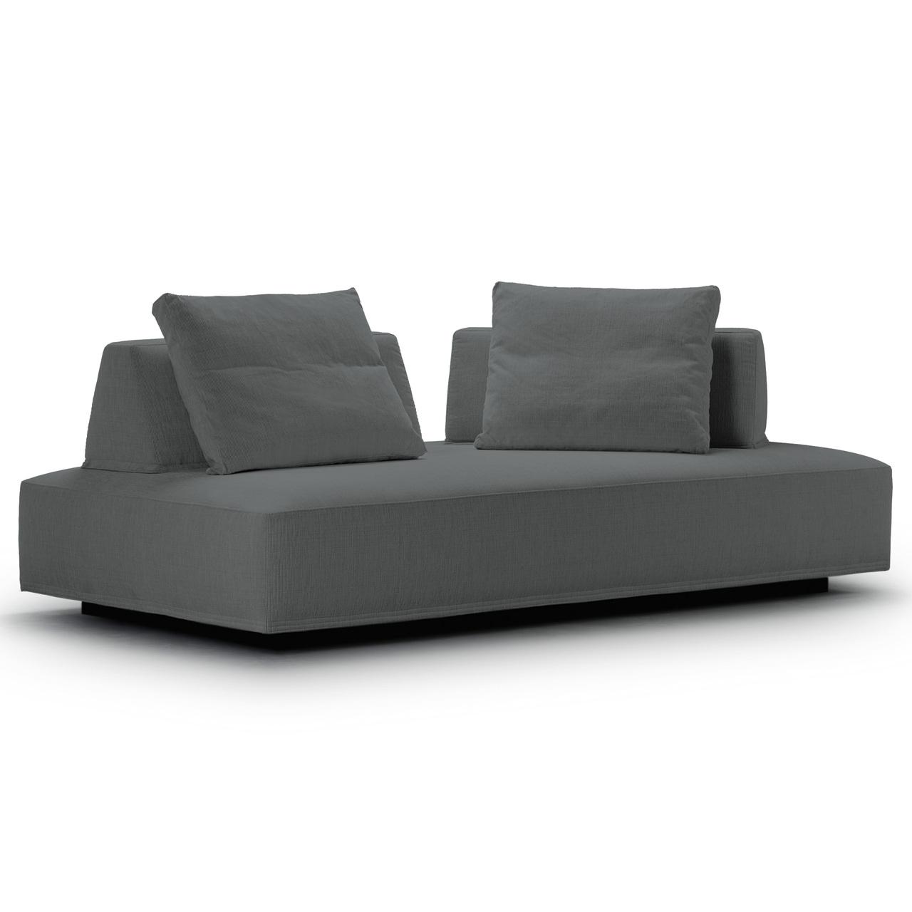 Eilersen Sofa 'Playground' Dunkelgrau 06 - Herring, B: 200 cm / T: 130 cm