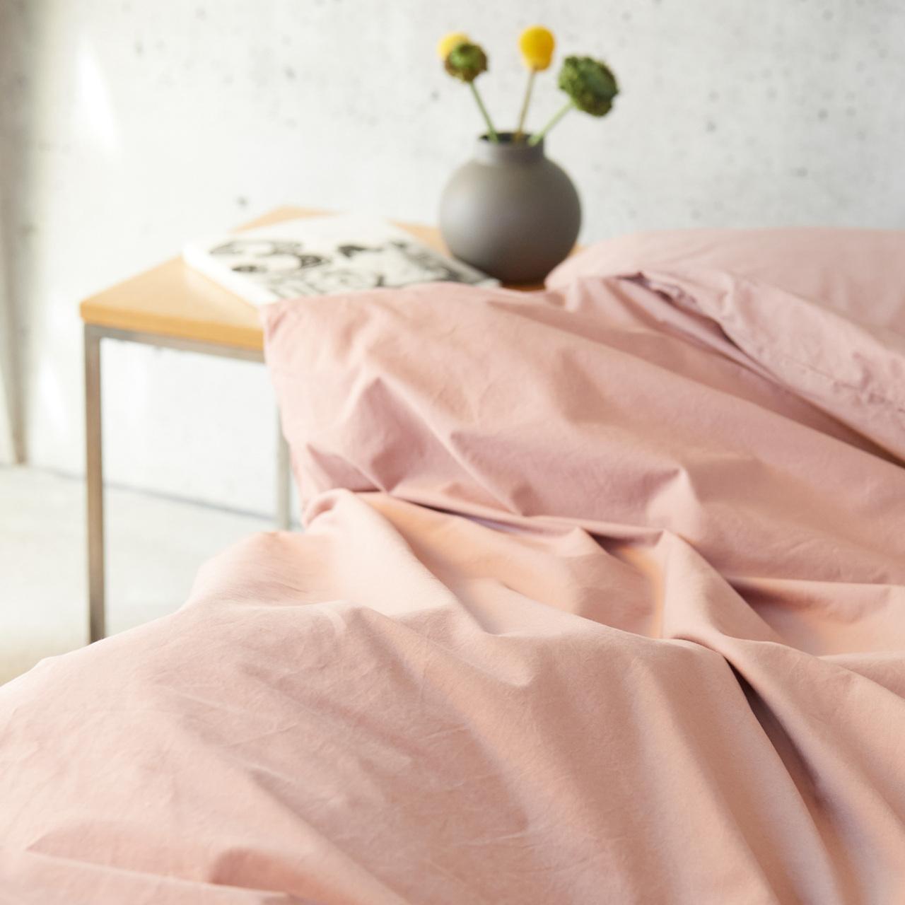 Lavie-Home Bettwäsche 'Louise' Ashrose, Kissen 50 x 70 cm