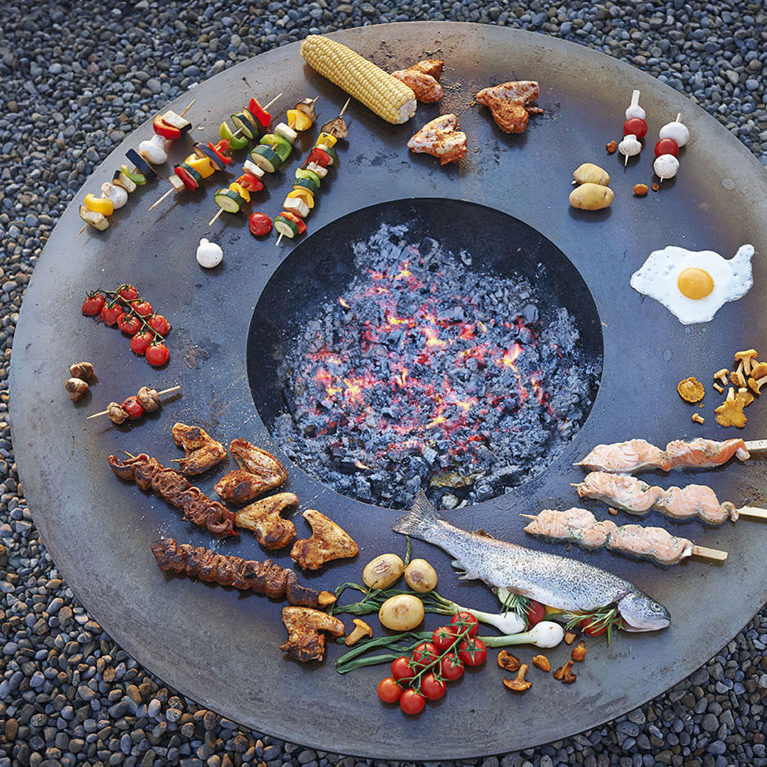 Attika Feuerstelle Circle 1