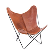 'Butterfly Chair' Bio Büffelleder