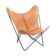 Original 'Butterfly Chair' in Sattelleder