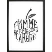 Poster 'Pomme'