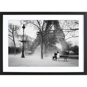 Fotoprint 'Paris im Winter'