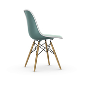 Eames Plastic Side Chair 'DSW' mit Vollpolster
