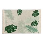 Tropical: waschbarer Baumwoll-Teppich