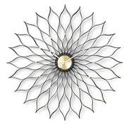 Wanduhr 'Sunflower Clock'