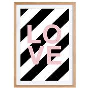 'Love'-Kunstprint für deine Wände