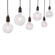 Verspielte Lichterkette 'Vintage Drop Light'
