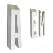 Buchstabenspiegel 'Letteronza'