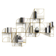 Wandgeometrie: Regal 'Musa'