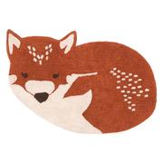 Süsser Fuchs-Teppich