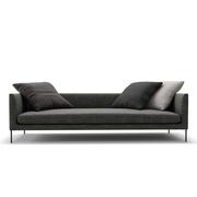 Sofa 'Blade' mit Stoff 'Sasso'
