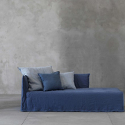 Chaiselongue 'Ghost' mit Husse