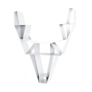 Wandregal 'Deer' aus Metall