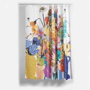 Blumiger Duschvorhang 'Blossom'