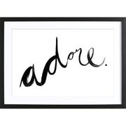 Print 'Adore'