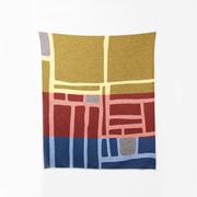 Kunstvolle Decke 'Bojagi'