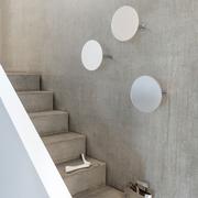 Kleiner Wandspiegel mit Garderobe 'Slot'