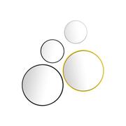 Verspielter Wandspiegel 'Bubble'